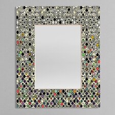 Sharon Turner Cellular Ombre Rectangular Mirror