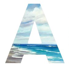 <strong>DENY Designs</strong> Rosie Brown Beach 1 Decorative Letters