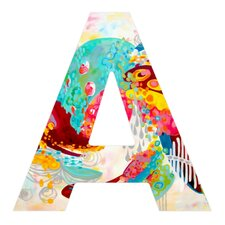 Stephanie Corfee Abstract Free Spirit Decorative Letters