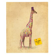 <strong>DENY Designs</strong> Terry Fan Fashionable Giraffe Rectangular Magnet Board