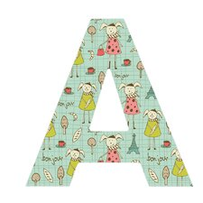 <strong>DENY Designs</strong> Heather Dutton Bonjour Lapin Decorative Letters