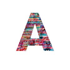 Amy Sia Rain 2 Decorative Letters
