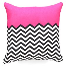 Bianca Green Woven Polyester Throw Pillow