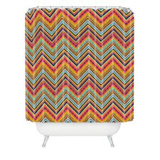 Amy Sia Tribal Chevron Polyester Shower Curtain