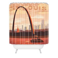<strong>DENY Designs</strong> Anderson Design Group Woven Polyester Saint Louis Shower Curtain