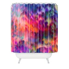 Amy Sia Sunset Storm Polyester Shower Curtain