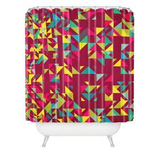 Arcturus Chaos Polyester 3 Shower Curtain