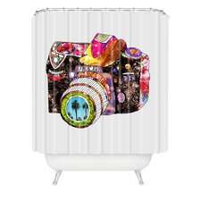 <strong>DENY Designs</strong> Bianca Woven Polyester Picture This Shower Curtain