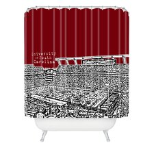 Bird Ave Woven Polyester University of South Carolina Dark Shower Curtain