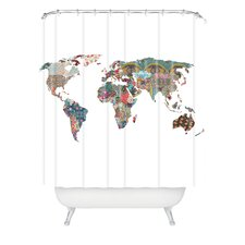 <strong>DENY Designs</strong> Bianca Woven Polyester Louis Armstrong Told Us So Shower Curtain