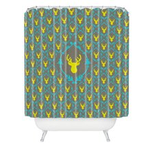 Bianca Oh Deer 3 Polyester Shower Curtain