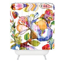 <strong>DENY Designs</strong> Cayenablanca Blossom Pastel Shower Curtain
