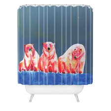 Clara Nilles Woven Polyester Shower Curtain