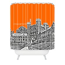 Bird Ave Woven Polyester Princeton University Shower Curtain