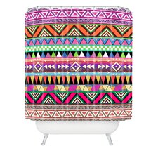 Bianca Woven Polyester Overdose Shower Curtain