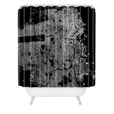 CityFabric Inc Woven Polyester San Francisco Shower Curtain
