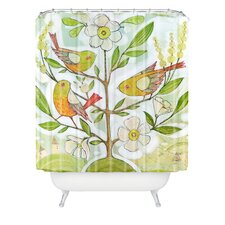<strong>DENY Designs</strong> Cori Dantini Woven Polyester Community Tree Shower Curtain