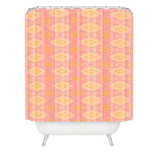 Cori Dantini Ikat 4 Polyester Shower Curtain