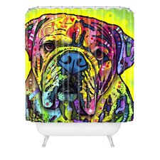 Dean Russo Hey Bulldog Shower Curtain