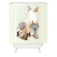 <strong>DENY Designs</strong> Iveta Abolina Polyester Little Rabbit Shower Curtain