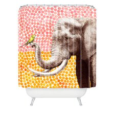 Garima Dhawan Woven Polyester New Friends 2 Shower Curtain