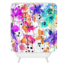 Holly Sharpe Lost in Botanica Shower Curtain