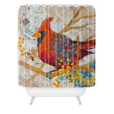 Elizabeth St Hilaire Nelson Cardinal Polyester Shower Curtain