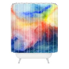 Jacqueline Maldonado Woven Polyester Torrent 1 Shower Curtain