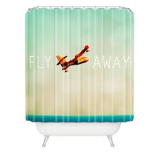 <strong>DENY Designs</strong> Happee Monkee Fly Away Shower Curtain