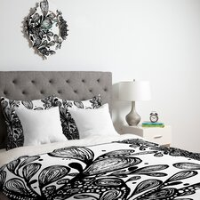 Julia Da Rocha Wild Leaves Duvet Cover Collection