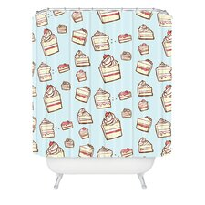 <strong>DENY Designs</strong> Jennifer Denty Woven Polyester Cake Slices Shower Curtain