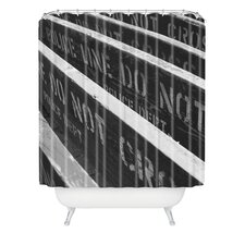 <strong>DENY Designs</strong> Leonidas Oxby Woven polyester 7 Chances Do Ya Feel Lucky Shower Curtain