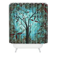 Madart Inc. Polyester Romantic Evening Shower Curtain