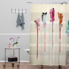 Iveta Abolina Feathered Arrows Shower Curtain