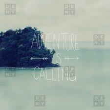 Leah Flores Adventure Island Duvet Cover