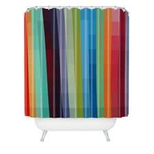 <strong>DENY Designs</strong> Madart Inc Woven Polyester City Colors Shower Curtain