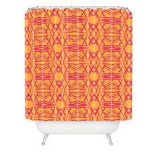 <strong>DENY Designs</strong> Pattern State  Shotgirl Tang Woven Polyester Shower Curtain