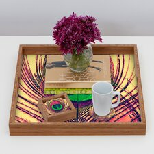 <strong>DENY Designs</strong> Shannon Clark Peacock 2 Coaster (Set of 4)