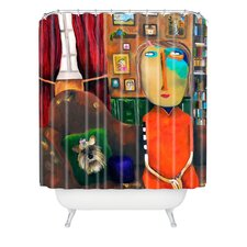 Robin Faye Gates Polyester with Bebe Shower Curtain