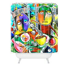 Robin Faye Gates Polyester I Should Give Relish A Try Shower Curtain