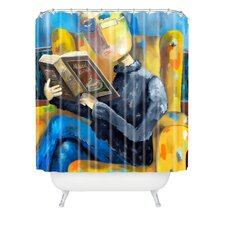 Robin Faye Gates Polyester at The End of The Fork Shower Curtain