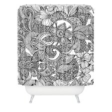 <strong>DENY Designs</strong> Valentina Ramos Woven Polyester Doodles Shower Curtain