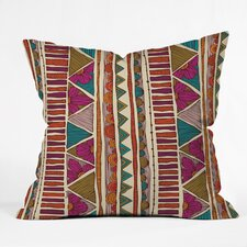 <strong>DENY Designs</strong> Valentina Ramos Ethnic Stripes Indoor/Outdoor Polyester Throw Pillow