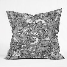 <strong>DENY Designs</strong> Valentina Ramos Doodles Indoor/Outdoor Polyester Throw Pillow