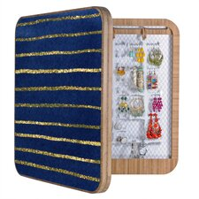 Social Proper Nautical Sparkle Jewelry Box