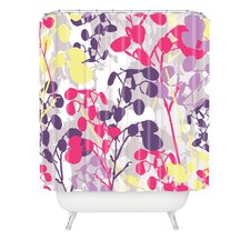 Rachael Taylor Polyester Textured Honesty Shower Curtain
