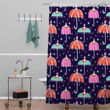 Rebekah Ginda Design Night Shower Curtain