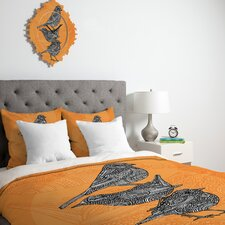 <strong>DENY Designs</strong> Valentina Ramos 3 Little Birds Duvet Cover Collection