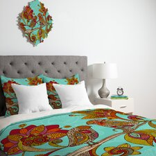 <strong>DENY Designs</strong> Valentina Ramos Hello Birds Duvet Cover Collection