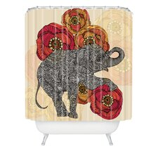 Valentina Ramos Polyester Rosebud Shower Curtain